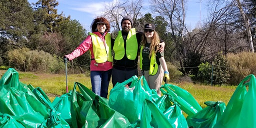 Coyote Creek Cleanup at Watson Park for World Wildlife Day