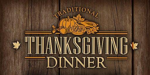 Traditional Thanksgiving Dinner & Entertainment