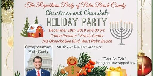 Republican Party of PBC Holiday Party