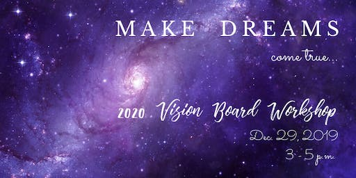 Vision Board - Set Your Sights on 2020