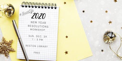 #BESTLIFE New Year's Resolutions Workshop