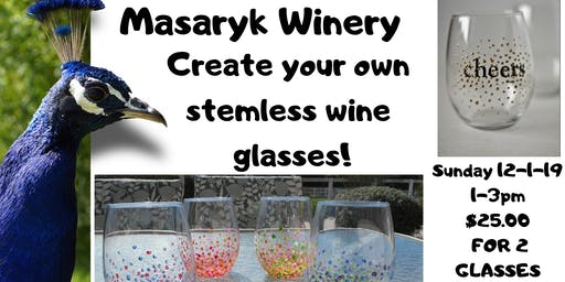 Masaryk Winery Wine Glass Painting Class