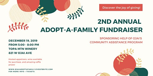 2nd Annual Adopt-A-Family Fundraiser
