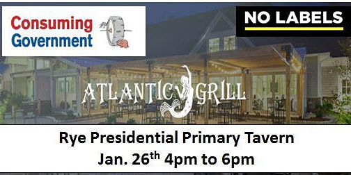 Rye Presidential Primary Tavern 2020