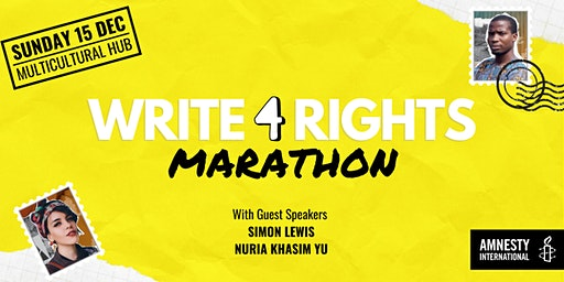 Write for Rights Marathon 2019