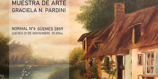 """Muestra de arte """"La primavera en el arroyo"""""""