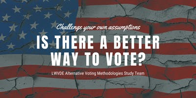 Alternative Voting/Election Systems Presentation - NCC Session 1