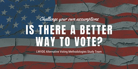 Alternative Voting/Election Systems Presentation - NCC Session 2 tickets