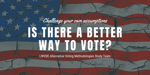 Alternative Voting/Election Systems Presentation