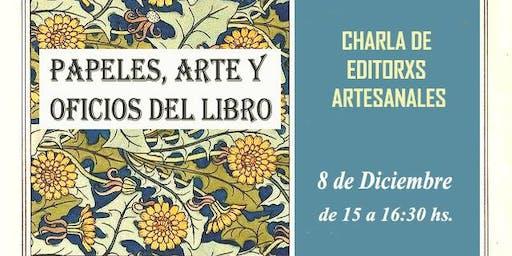 Charla de Editores Artesanales
