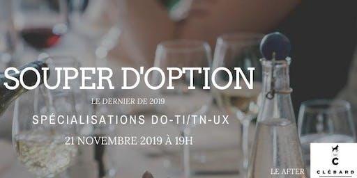 Souper d'option DO-TI/TN-UX