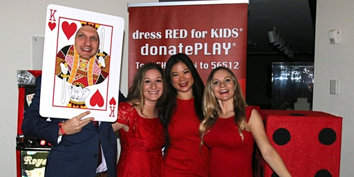 Dress RED for KIDS | donatePLAY