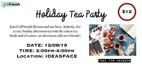 HOLIDAY TEA PARTY tickets