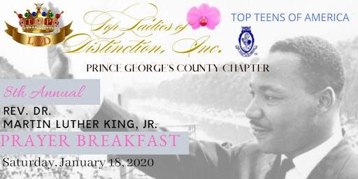 Prince George's County Top Ladies of Distinction 8th Annual MLK Prayer Breakfast