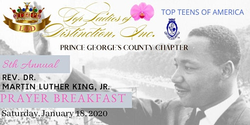 Prince George's County Top Ladies of Distinction 8th Annual MLK Prayer Breakfast