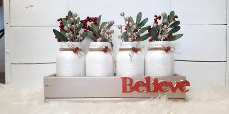 Christmas Mason Jar Workshop tickets