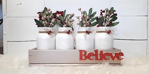 Christmas Mason Jar Workshop