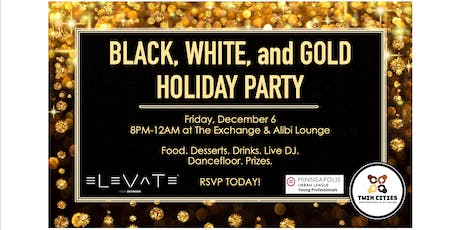 Black, White, and Gold Holiday Party w/ MULYP tickets