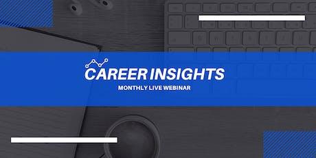 Career Insights: Monthly Digital Workshop - Prato biglietti