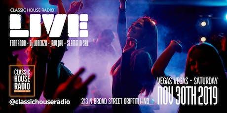 Classic House Radio Live Vegas Vegas tickets