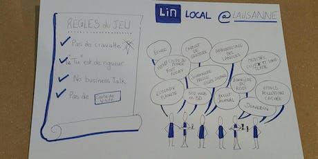 LinkedInLocal Lausanne 2020 - Réseautage billets