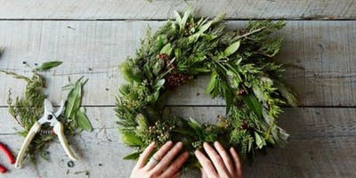 Wreath Making Workshop with The Flower Gypsy