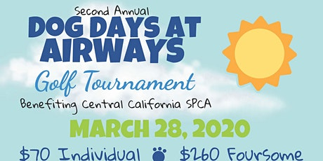 2nd Annual Dog Days @ Airways Golf Tournament and Family Fun Day tickets