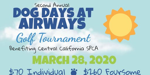 2nd Annual Dog Days @ Airways Golf Tournament and Family Fun Day