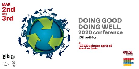IESE Doing Good Doing Well Conference 2020 tickets