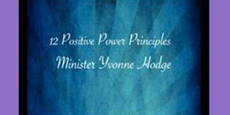 12 Positive Power Principles  tickets