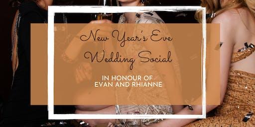 Rhianne and Evan's New Year's Eve Wedding Social