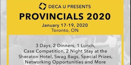 DECA Ryerson x DECA U Provincials 2020