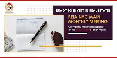 Real Estate Entrepreneurs & Investors Association (REIA NYC) Main Monthly Meeting - October 2020