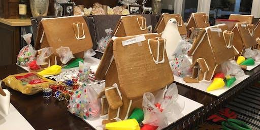 11/29/19- 4PM- 6PM- Gingerbread House Workshop