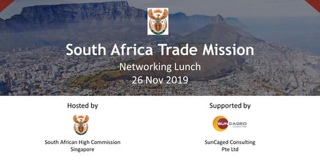 Networking Lunch with South African Companies tickets