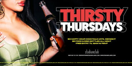 Thirsty Thursday's tickets