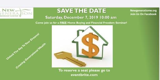 New Generation  Worship Center Home Buying Financial Seminar