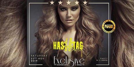 Hollywood Milano Sabato 23 Novembre 2019 #Hashtag - ✆ 3332434799 biglietti