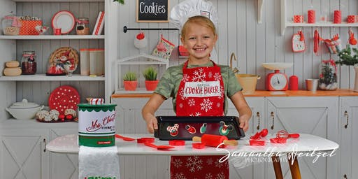 Kids Christmas Cookie Workshop and Photo Session