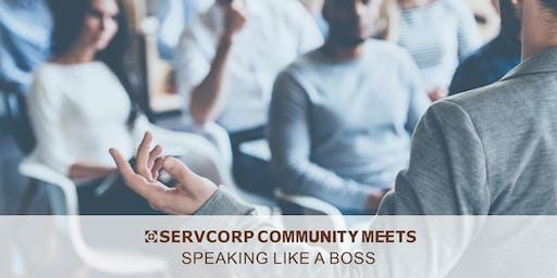 Speaking Like a Boss | Servcorp 140 William Street
