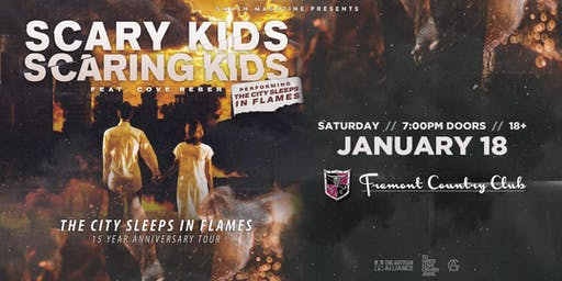 Scary Kids Scaring Kids 15th Anniversary Tour