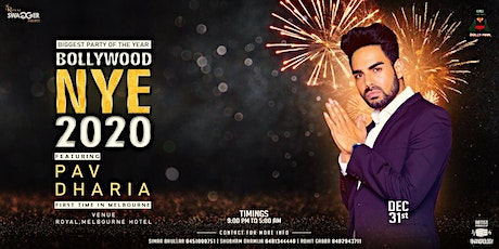 BOLLYWOOD NYE 2020 FT. PAV  DHARIA tickets
