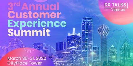CX Talks Dallas - 3rd Annual Customer Experience Summit tickets