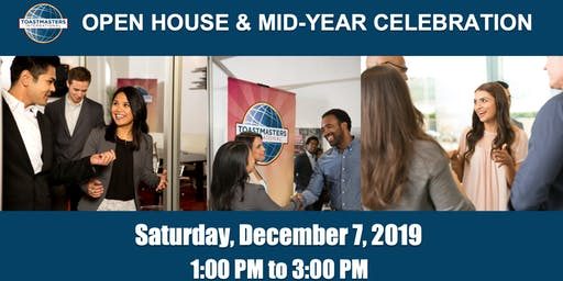 Toastmasters Open House + Mid-Year Celebration Party