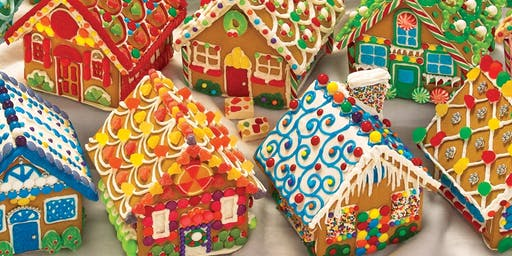 Craft Night! Gingerbread House Decorating!
