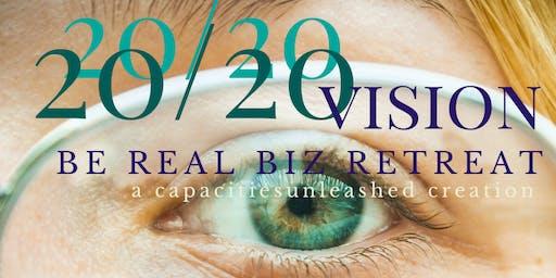 20/20 Vision Be Real Women Biz Retreat