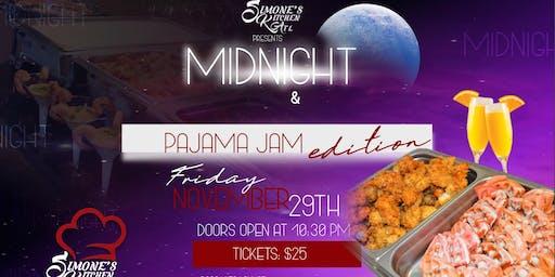 Midnight Brunch & Booze- Pajama Jam Edition