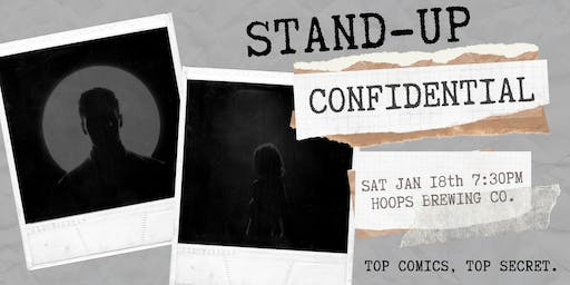 Stand-Up Confidential at Hoops Brewing