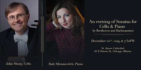 An Evening of Sonatas for Cello and Piano  tickets