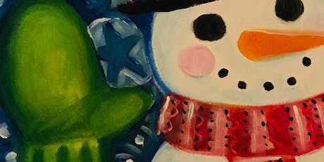 Paint Night in Canberra: Frosty tickets